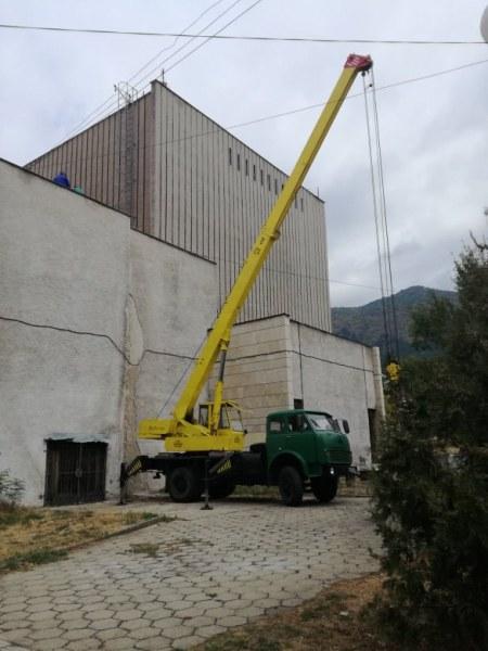 Добра новина! Ремонтират покрива на читалището в Сопот