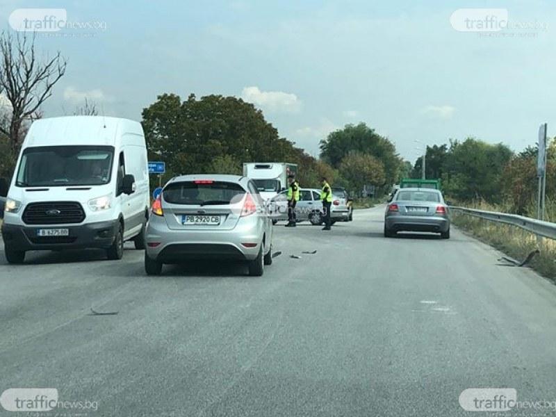 Катастрофа блокира един от изходите на Пловдив