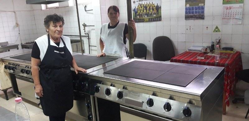 Социалният патронаж в Първомай се сдоби с ново кухненско обзавеждане
