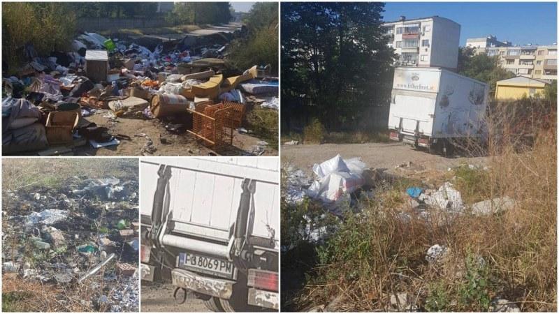 Поляна в Пловдив зарината с купища боклуци, растат с всеки изминал ден