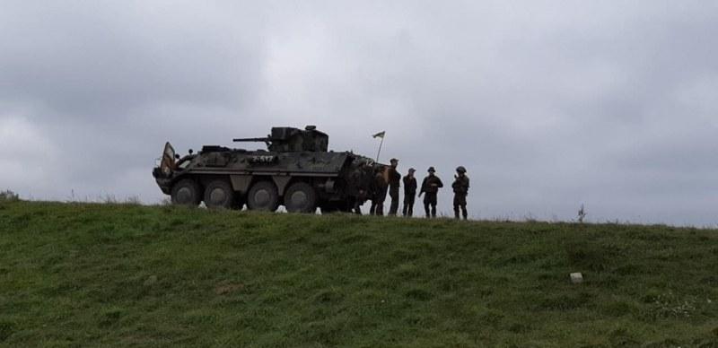 Карловски военни показаха умения при симулация на реални бойни действия в Украйна