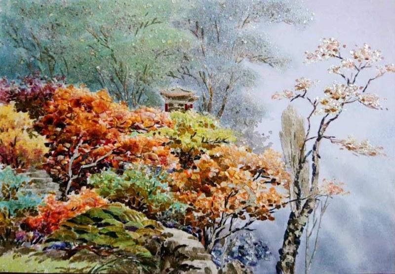 Корейски гоблени и картини от седеф омагьосват сетивата в Хисаря