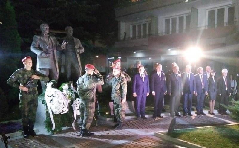 Карловската бригада почете паметта на дарителите Евлогий и Христо Георгиеви