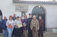 Елена Филева и кандидат-съветници в Куклен дариха книги за откриването на Духовната библиотека