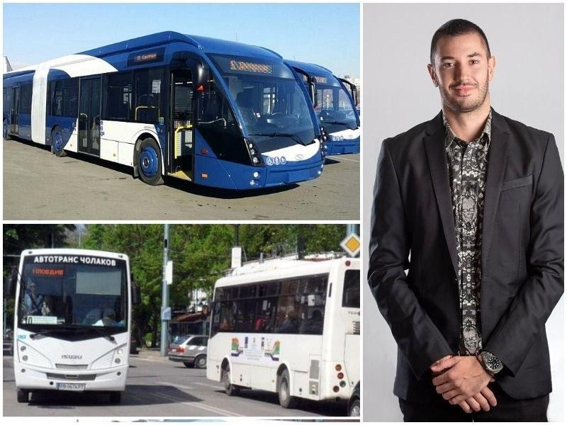 Кирил Търев: Можем да възродим електротранспорта в Пловдив, привличайки десетки милиони от Европа