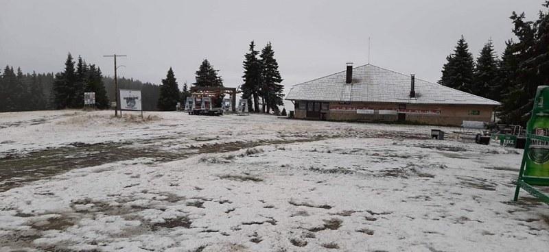 Първи сняг падна в Родопите