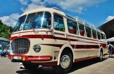 Бижуто на първия събор на ретро автобуси - Skoda 706RTO, спрян от движение преди 20 години