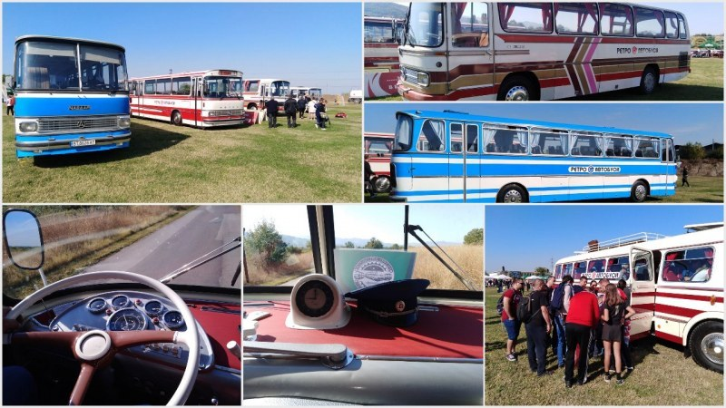Първият в България събор на ретро автобуси се проведе в пловдивското село Брестовица