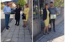 """Кандидатите за кмет и съветници от Коалиция ЗС """"Ал. Стамболийски"""" с дарение на книги за мюсюлманите в Куклен"""