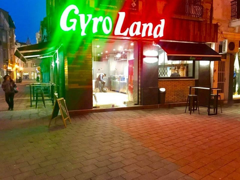 Гръцка верига за дюнери в Пловдив отърва глоба заради недоглеждане на Общината