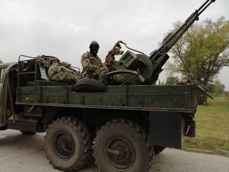 Военен полигон край Карлово стана арена на батарейно тактическо учение