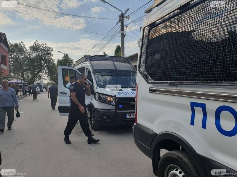 Полицаи търсят дрога в Столипиново, арестуваха дилър