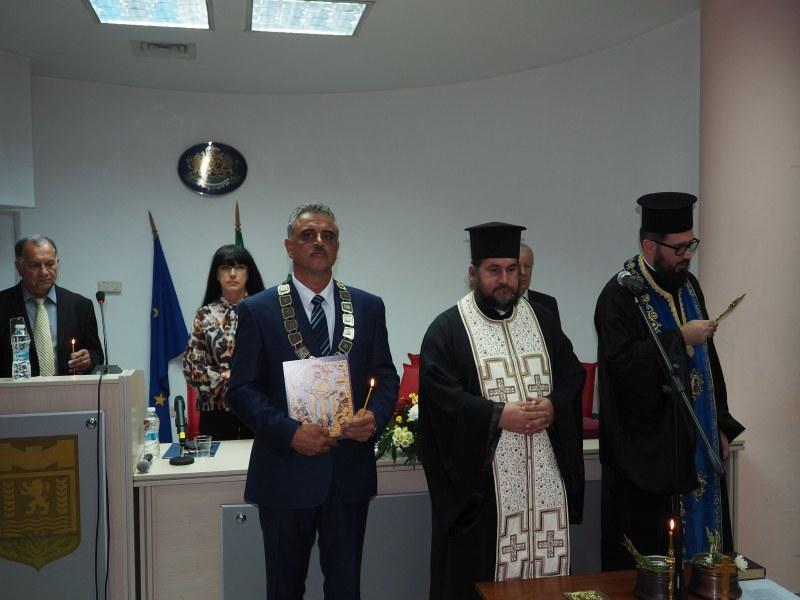 """Навръх Архангеловден кметът на """"Марица"""" започна третия си мандат"""