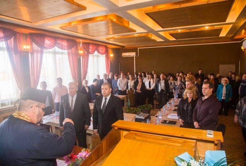 Кметът Атанас Калчев на клетвата днес: И нека Кричим да пребъде!