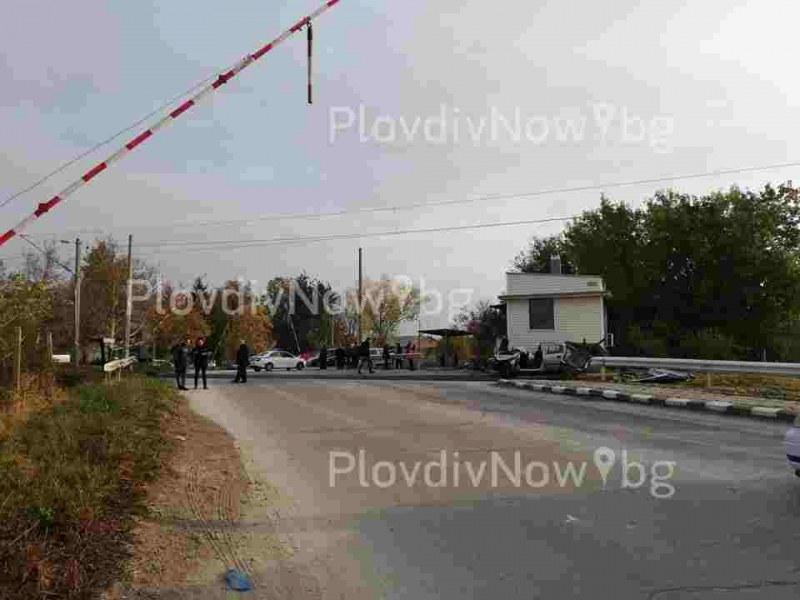 Прокуратурата иска постоянен арест за пияния кантонер за катастрофата между влак и кола край Асеновград