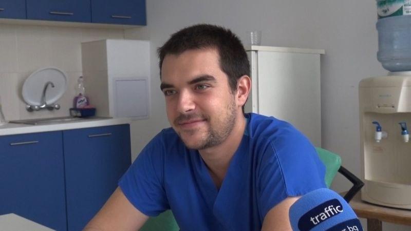 Младите лекари на Пловдив: Д-р Димитър Шишков – трето поколение медик