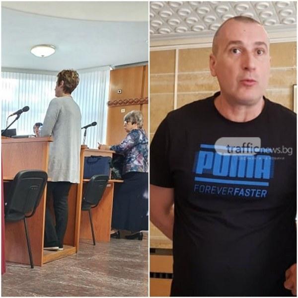 Тъщата на Караджов vs бившия зам.директор на полицията в Пловдив: Лъжеш!