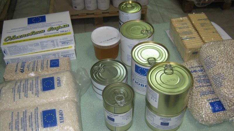 """Българският червен кръст раздава хранителни продукти в """"Тракия"""""""
