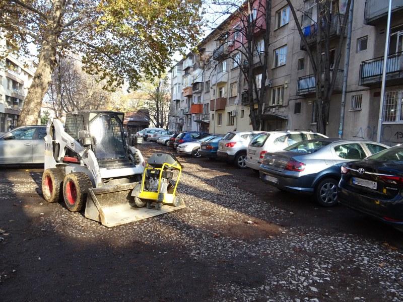 Първа копка даде старт на строежа на нов паркинг в Кършияка