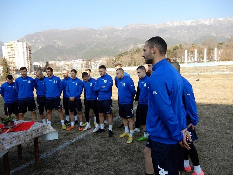 Карловският футболен отбор започна зимната си подготовка със 7 нови играчи