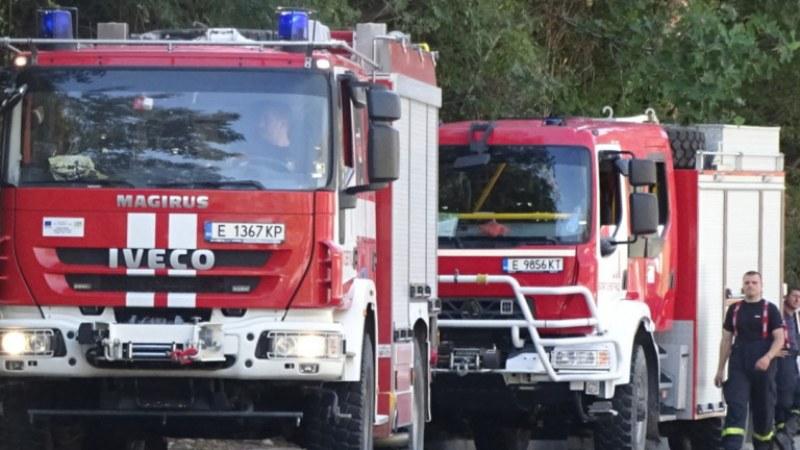 Пожар подпали къща в Куклен, пострада млад мъж