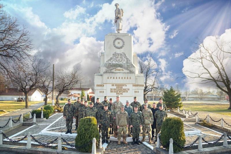 Американски гости посетиха Карловската бригада