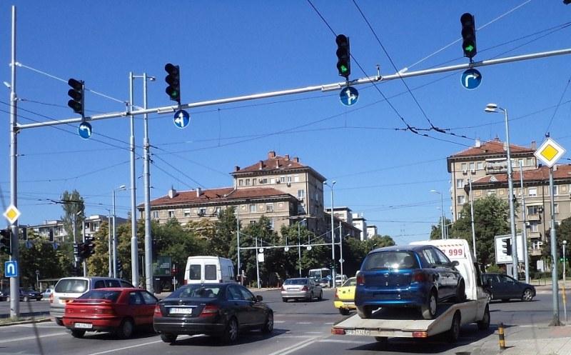 Предупреждават шофьорите в Пловдив да  внимават на оживено кръстовище