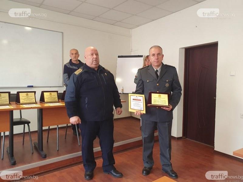 Спасителят на Двореца Кричим стана Пожарникар на годината