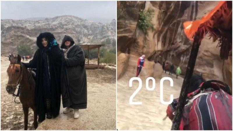 Порой помрачи екскурзията на Мегз и майка й в Йордания