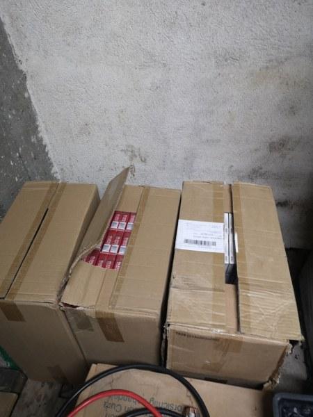 Спипаха възрастен мъж в Перущица с огромно количество незаконни цигари