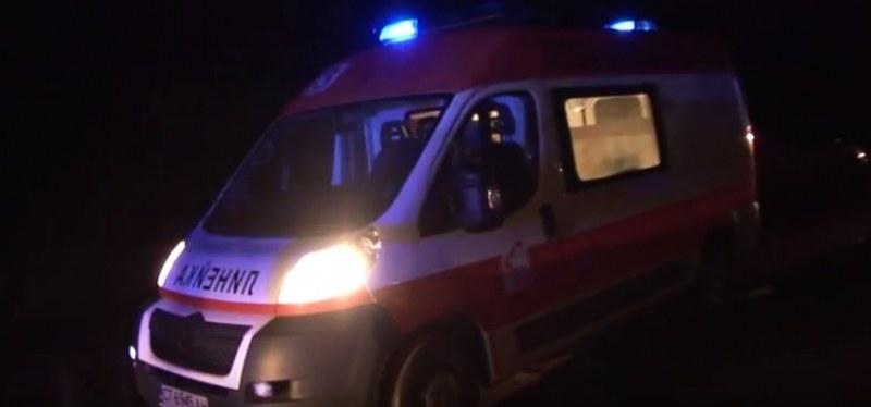 Катастрофа край Садово, младежи пострадаха