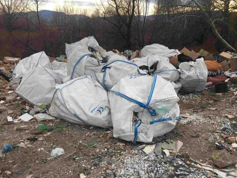 Тонове боклуци от Испания заливат река Чая край Катуница