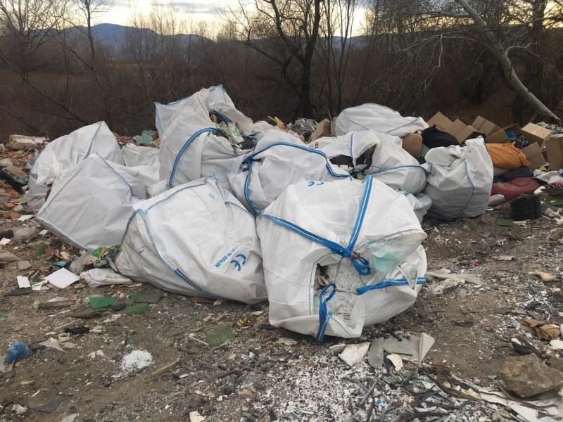 Много пластмаса открита в боклуците край Чая, има риск от замърсяване