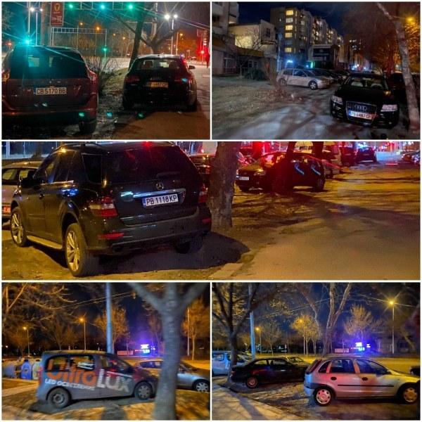 Десетки коли паркирани в градинки в Тракия. Но всичко е точно!