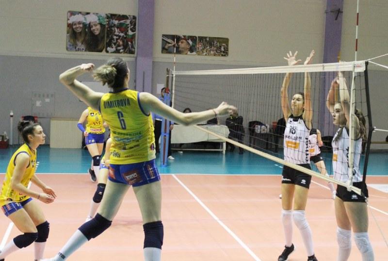 Марица записа нова победа над Славия преди мача с Уралочка
