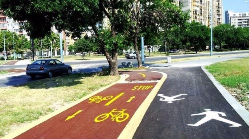 Велосипедист предизвика катастрофа в Пловдив, не спрял на стоп линията