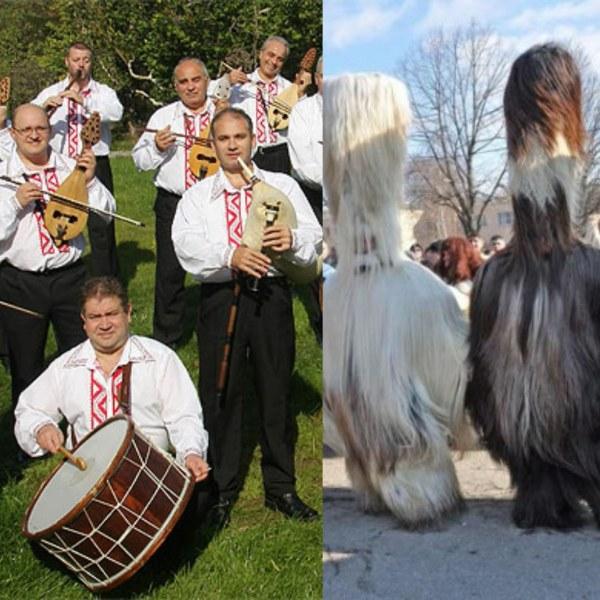 Карнавал с кукери гони злите сили на празника Месни заговезни в Храбрино