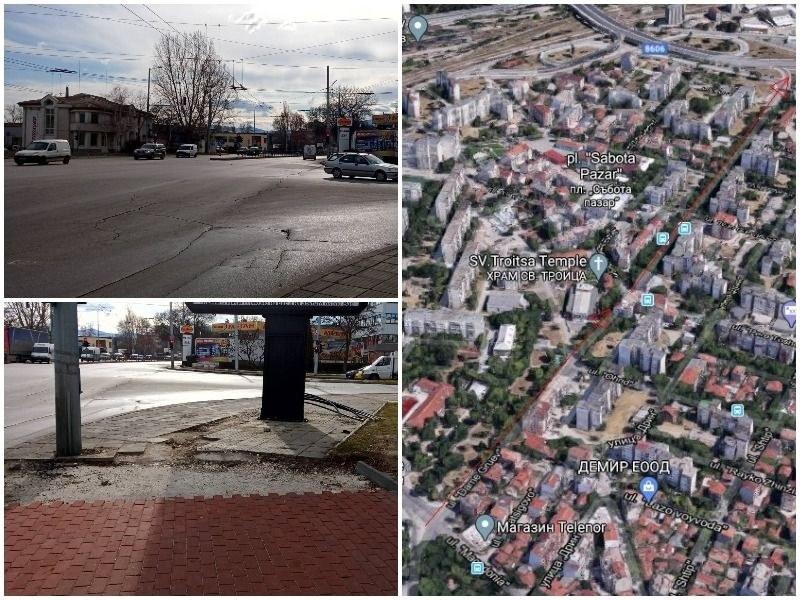 """Замразяват ремонта на Кукленско шосе, милионите отиват за ул. """"Даме Груев"""""""