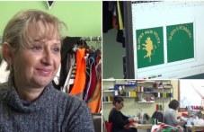 Фабриката в Първомай създаде уникално знаме на четата на Хаджи Димитър и Стефан Караджа