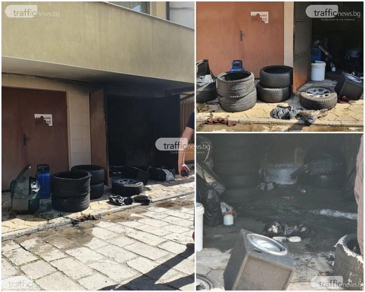 Дилърът, запалил трева и амфетамин в гараж в Кършияка, откаран с линейка в токсикологията
