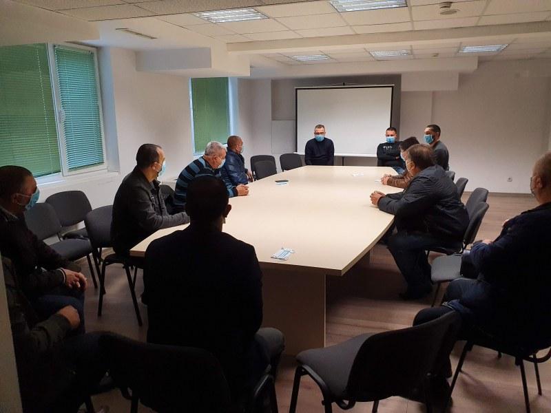 Иван Стоянов и Николай Кирков се срещнаха с представители на ромската общност в Столипиново