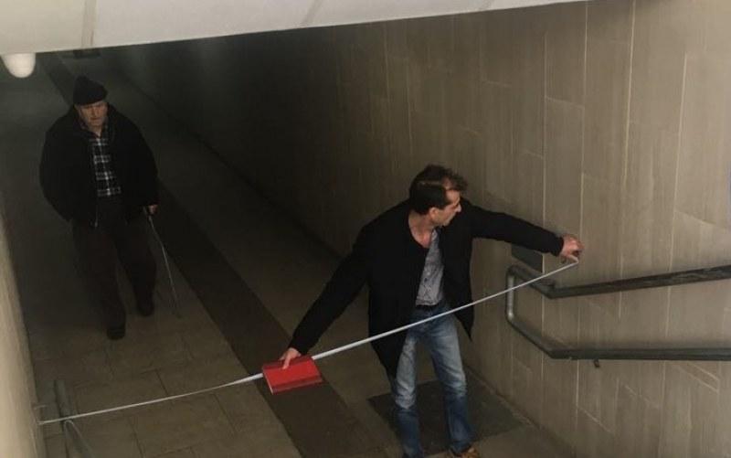 Обмислят платформа за достъп на трудно подвижни хора в подлез на гарата в Стамболийски