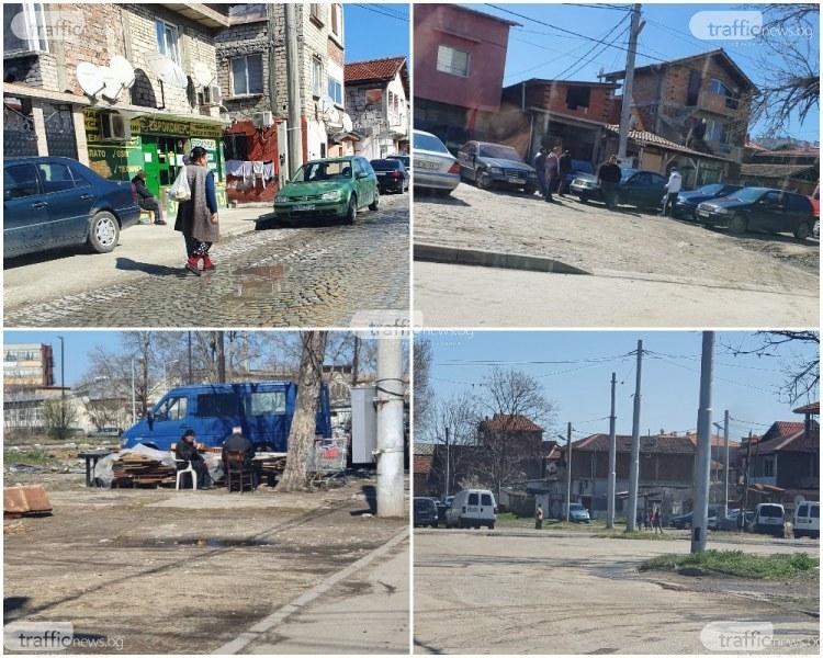 В ромските махали на Пловдив животът тече постарому, извънредно положение няма