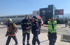 Евакуираха лекари и пациенти от пожара в пловдивската болница