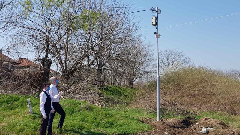 Камери край Марица в Стамболийски следят за вандали и нарушители на ограничителните мерки