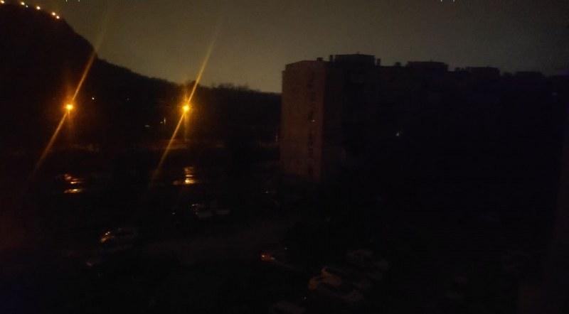 Половин квартал в Пловдив остана на тъмно заради авария