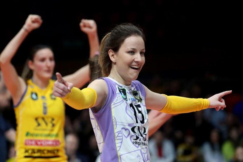 Либерото на Марица и националния отбор Жана Тодорова за първите стъпки във волейбола