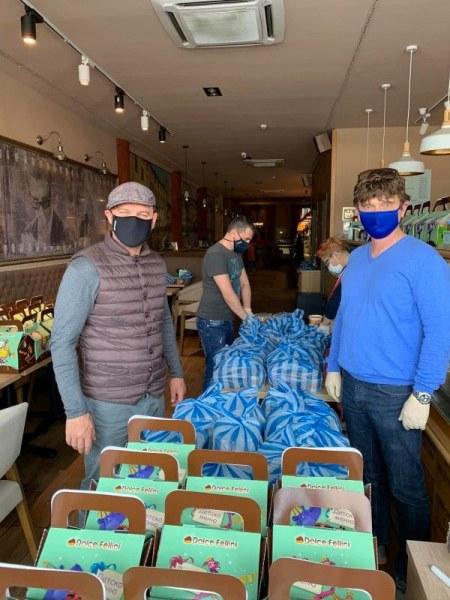 100 порции с вкусна храна получиха хора в затруднение в Тракия
