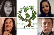 Ученици от Калояновско отбелязват по нестандартен начин Деня на Земята