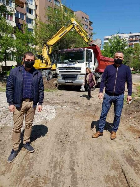 """Правят нов парк и паркинг за хората в пловдивския район """"Източен"""""""